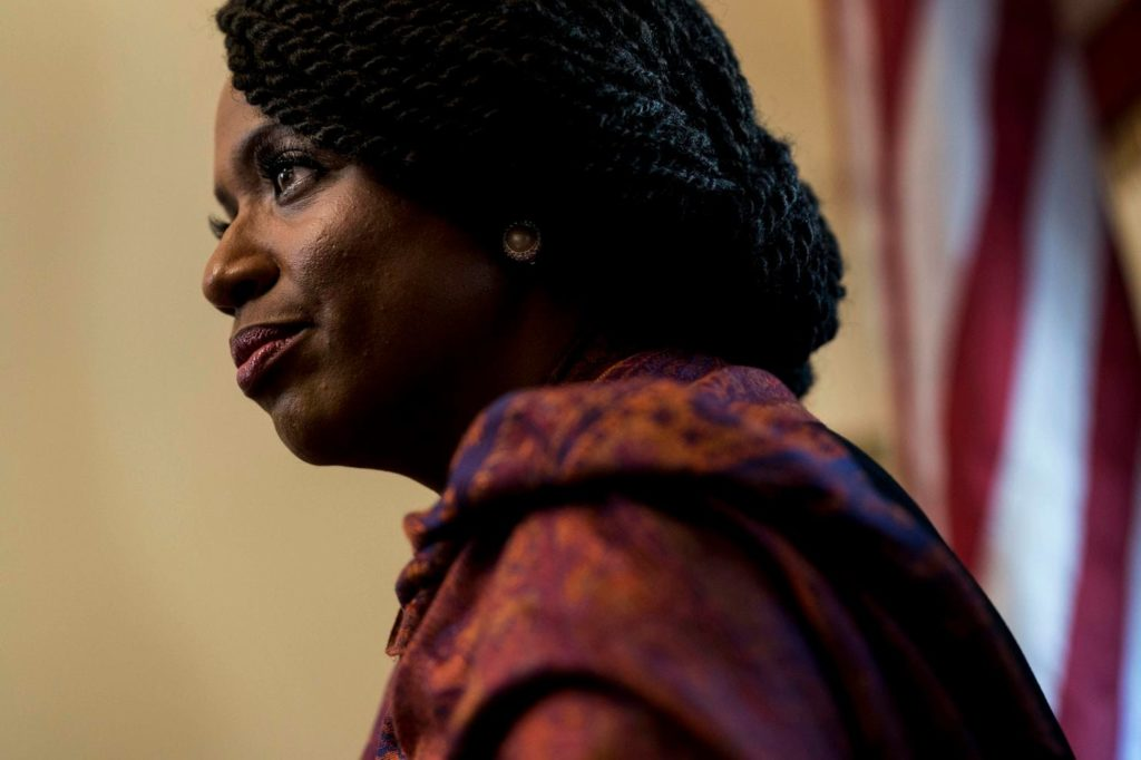 Photo of Ayanna Pressley (D-MA)